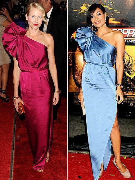 Fashion Battle: Наоми Уоттс и Розарио Доусон