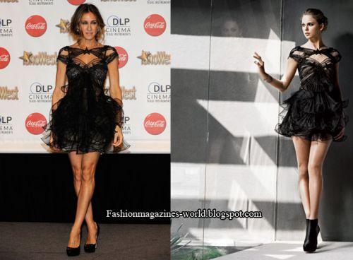 Fashion battle: Сара Джессика Паркер и Тэйлор Свифт