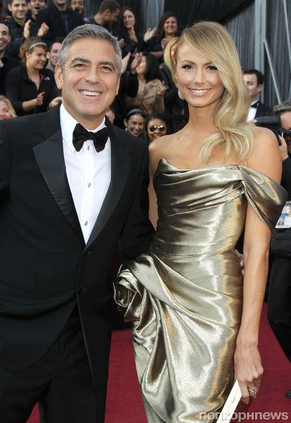 Джордж Клуни расстался со Стейси Киблер
