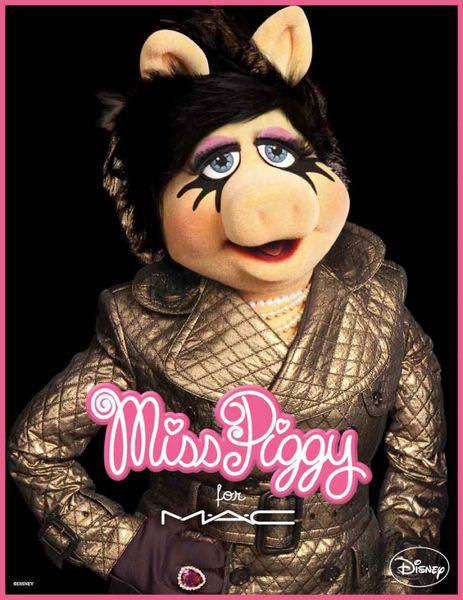 Новая коллекция MAC от Мисс Пигги