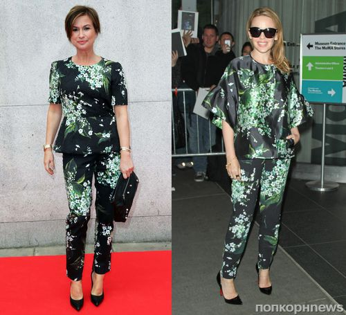 Fashion Battle: Эмма Форбс и Кайли Миноуг
