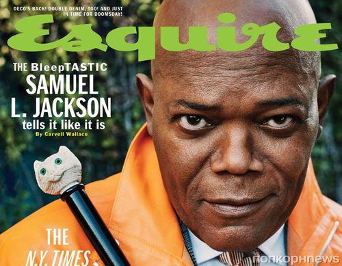 «Я знаю, сколько меня ненавидит идиотов»: Сэмюэл Л Джексон в креативной фотосесии Esquire
