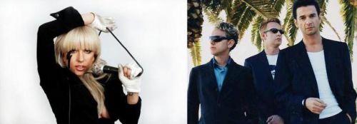 Lady Gaga хочет сделать кавер на Depeche Mode