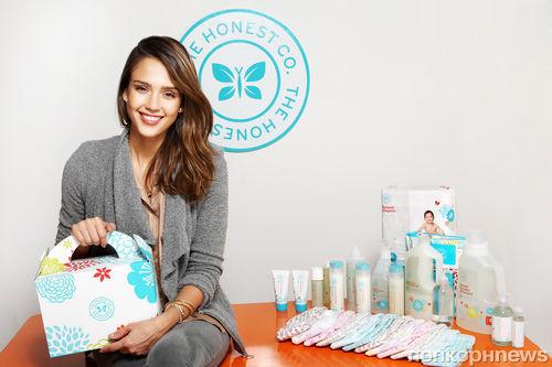 Джессика Альба открыла компанию по производству эко-товаров