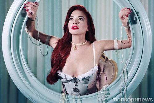 Линдси Лохан примерила образы диснеевских принцесс в новой фотосессии