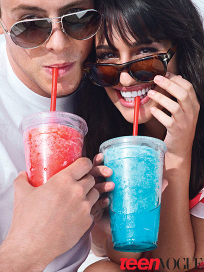 """Звезды сериала """"Хор / Glee"""" в журнале Teen Vogue"""