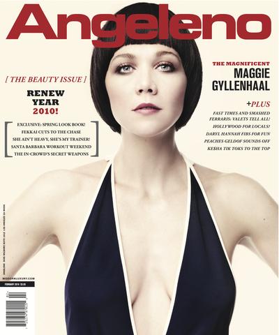 Мэгги Джилленхол в журнале Angeleno. Май 2010