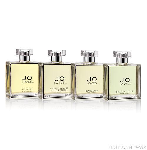 Jo Malone выпускает капсульную коллекцию ароматов Jo Loves