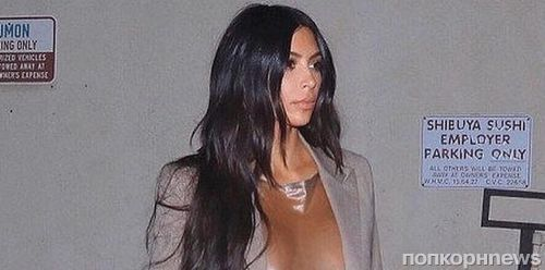 Платье или полиэтиленовый пакет? Ким Кардашьян превзошла саму себя и вышла в свет в абсолютно прозрачном наряде
