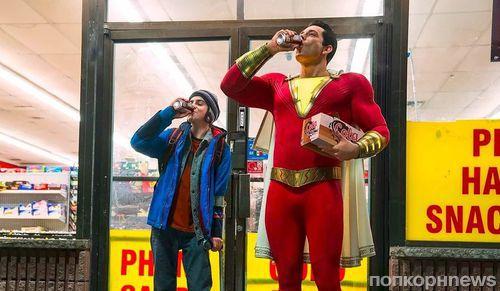 Дебютный трейлер «Шазама!»: Весёлый супергеройDC