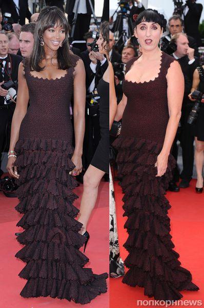 Fashion battle: Наоми Кэмпбелл и Росси де Пальма