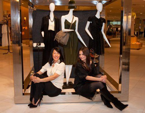 Кэти Холмс запустила свою линию одежды в магазинах Barneys в Далласе и Чикаго