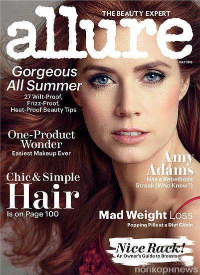 Эми Адамс в журнале Allure. Июль 2013
