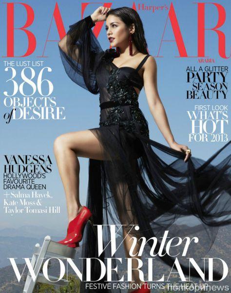 Ванесса Хадженс в журнале Harper's Bazaar Arabia. Декабрь 2012