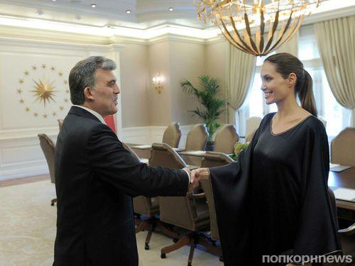 Анджелина Джоли побывала в Турции