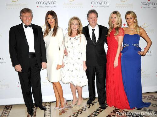 Семьи Хилтон и Трамп на званом вечере Economic Scholarship Program Gala