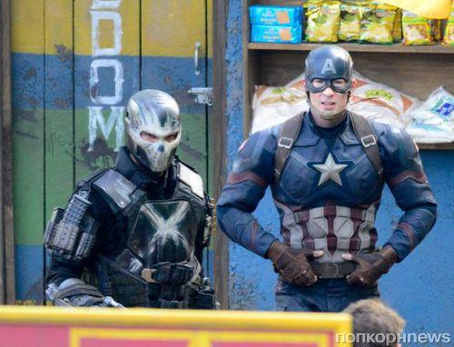Первые кадры со съемок «Первого мстителя: Гражданская война» появились в сети