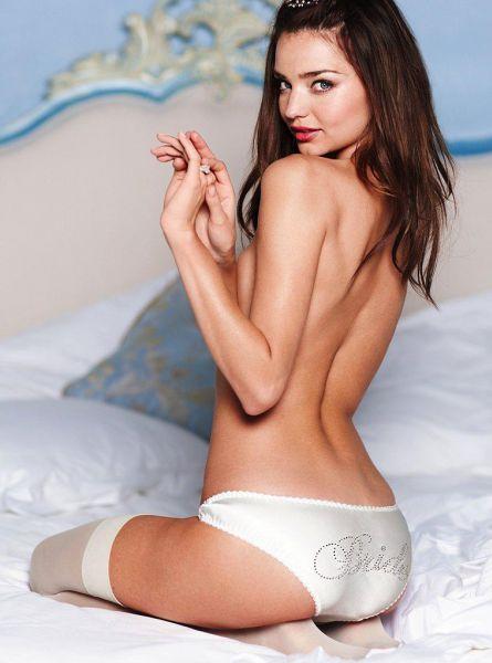 Миранда Керр для летнего каталога Victoria's Secret