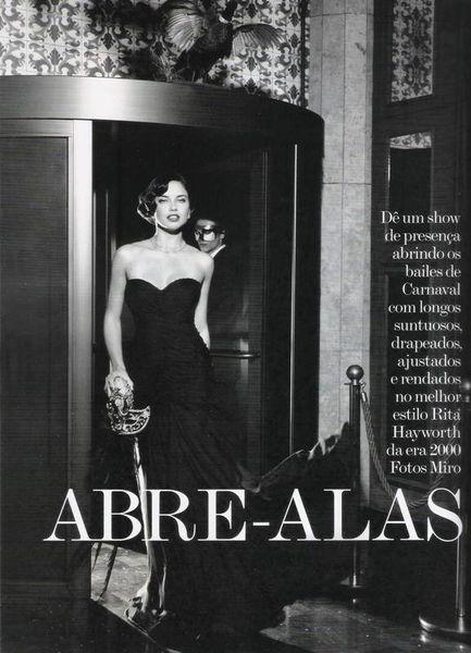 Адриана Лима в журнале Vogue. Бразилия. Февраль 2011