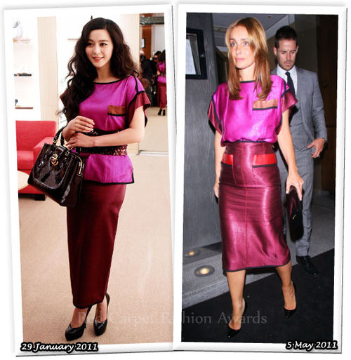 Fashion Battle: Фан Бинг Бинг и Луиза Редкнапп