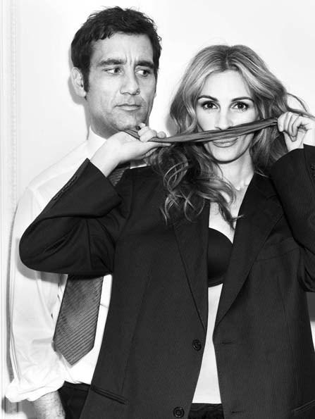 Кадры, не вошедшие в фотосессию Джулии Робертс и Клайва Оуэна для Entertainment Weekly