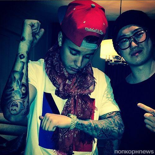 Джастин Бибер завязал с татуировками