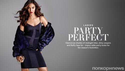 Джоан Смоллс в рекламной кампании H&M Holiday 2014