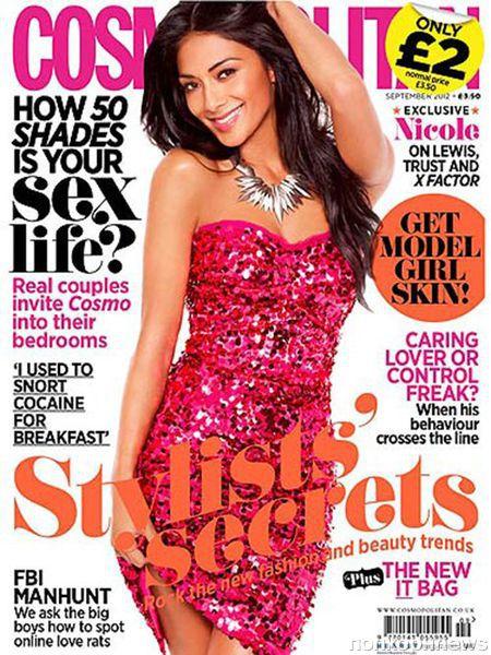 Николь Шерзингер в журнале Cosmopolitan Великобритания. Сентябрь 2012