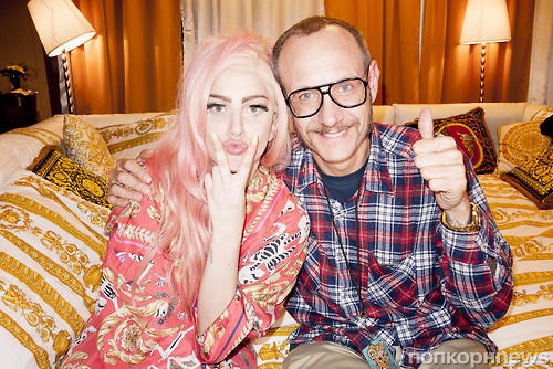 Lady GaGa  снова оказалась в объективе Терри Ричардсона