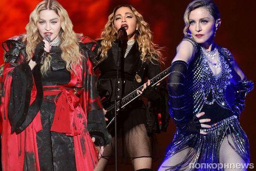 Мадонна заработала на гастрольных турах почти 1,5 миллиарда долларов