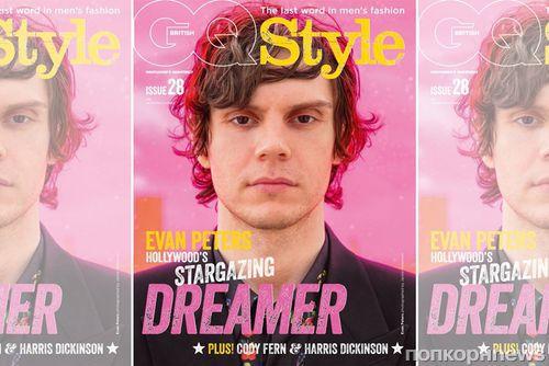 Эван Питерс объявил о перерыве в актёрской карьере в фотосете для GQ