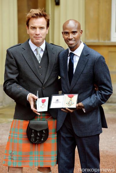 Юэн МакГрегор награжден орденом Британской империи