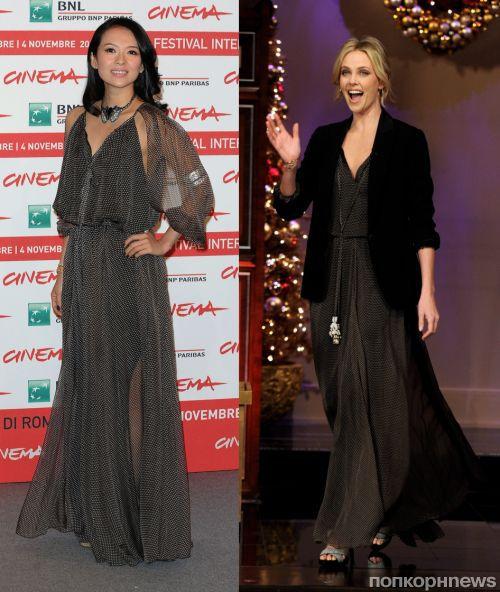 Fashion battle: Чжан Цзыи и Шарлиз Терон