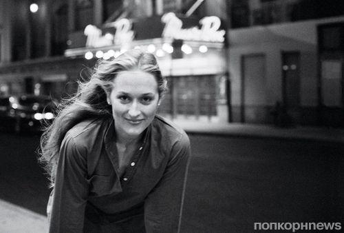 Молодая Мэрил Стрип в фотосессии для журнала Vanity Fair. Апрель 2016