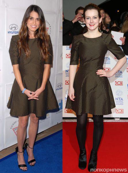 Fashion battle: Никки Рид и Софи Макшера