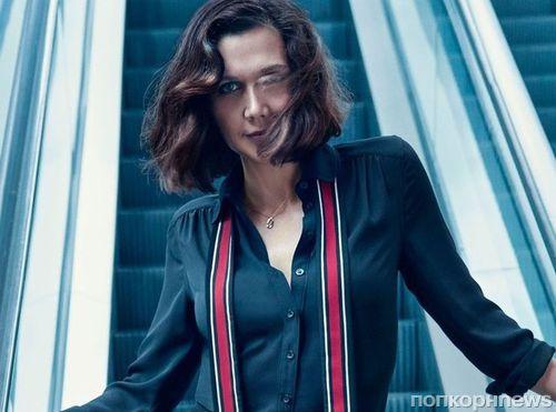 Мэгги Джилленхол в новом фотосете для Harper's Bazaar