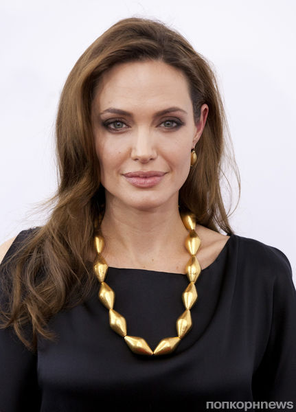 Анджелина Джоли сделала пожертование во Всемирный день беженца