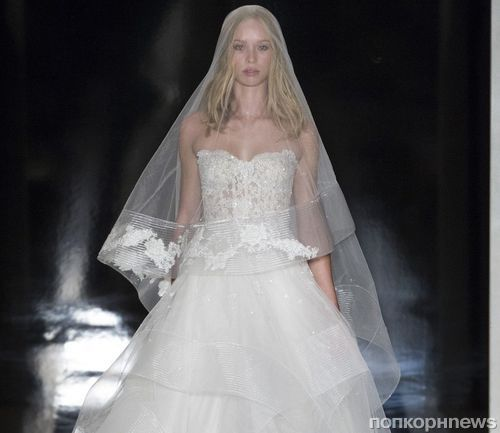 Модный показ свадебных платьев Reem Acra. Весна / лето 2017