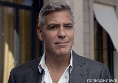 Джордж Клуни и Жан Дюжарден в рекламном ролике Nespresso