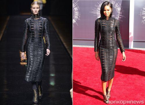 Fashion battle: Роузи Хантингтон-Уайтли и Шанель Иман