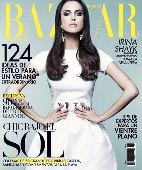 Ирина Шейк в журнале Harper's Bazaar Mexico. Июль 2011