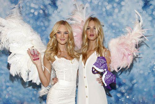 Презентация новых духов и нижнего белья Victoria's Secret