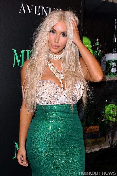 Ким Кардашиан хочет быть блондинкой