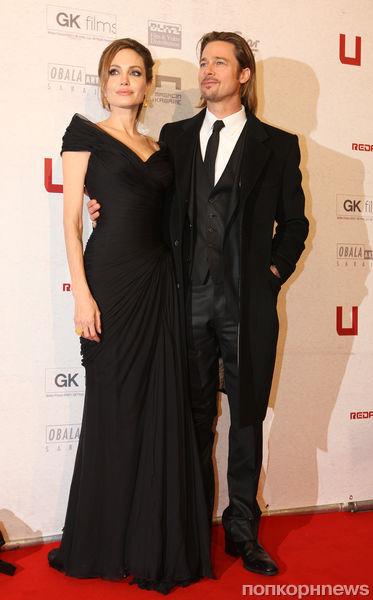 Анджелина Джоли и Брэд Питт помолвлены