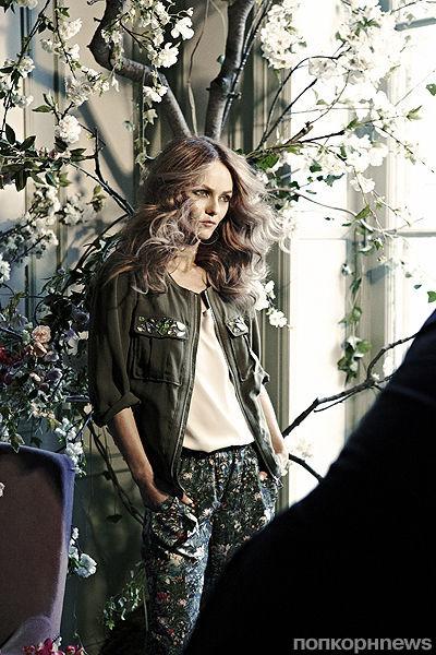 Ванесса Паради — новое лицо H&M