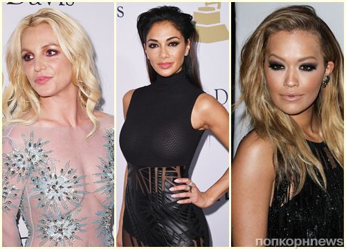 Бритни Спирс, Рита Ора, Зейн Малик и другие звезды на вечеринке перед «Грэмми» 2017