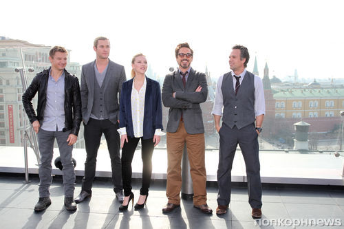 Премьера фильма «Мстители» в России