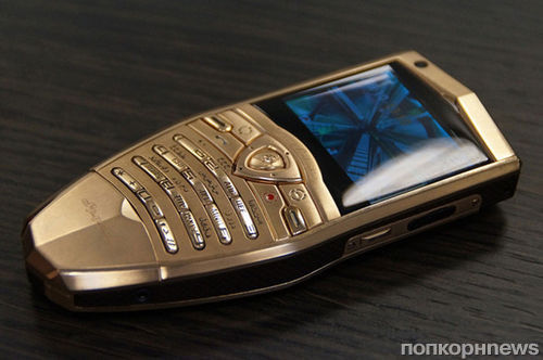 Новые смартфоны и планшет от Lamborghini