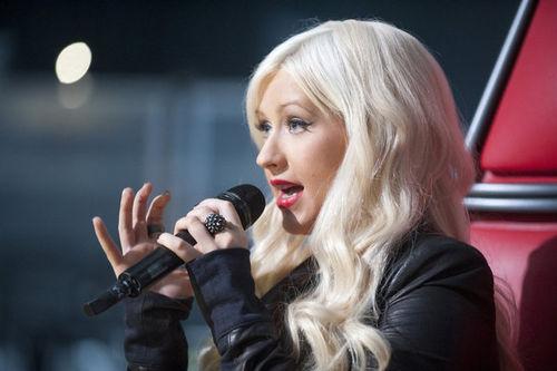 Кристина Агилера рассказала о шоу The Voice