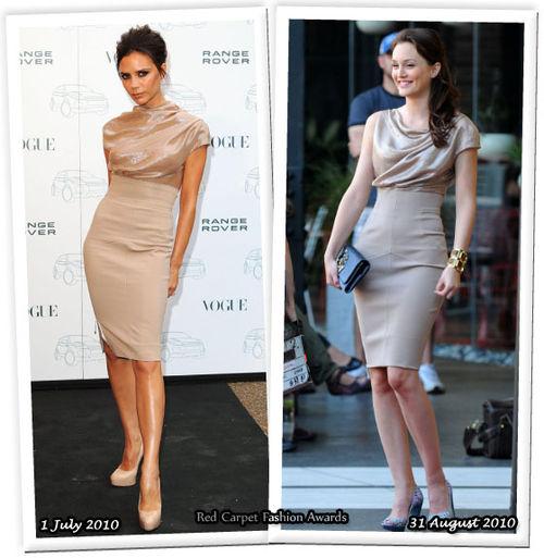Fashion battle: Виктория Бекхем и Лейтон Мистер